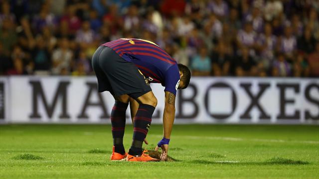 «Поле было похоже на пляж. Позор играть здесь». «Барселона» подала жалобу на газон в Вальядолиде
