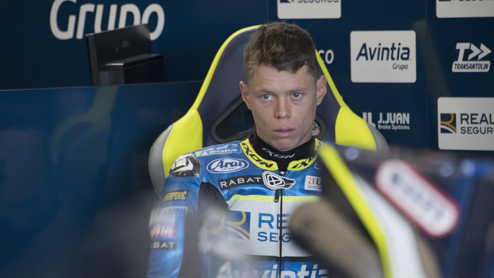 Rabat's leg 'twisted like an S' in Silverstone crash - Motorcycling - Eurosport Asia