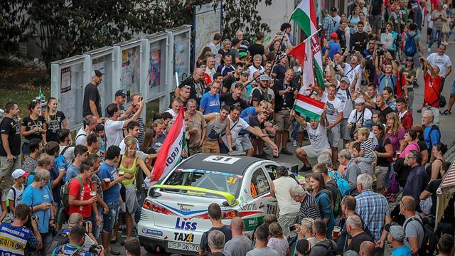 Tibor Érdi Jr is ERC2 champion again in Zlín!