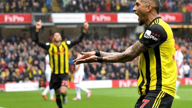 Highlights: Flyvende Pereyra bringer Watford op på siden af Liverpool