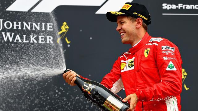 Bonus-malus : Vettel surpuissant, Hamilton K.-O., Leclerc miraculé