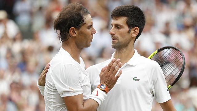 Nadal - Djokovic, la doublette de favoris qu'on n'espérait plus