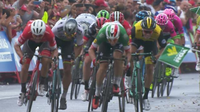 La Vuelta 2018: 3. etabın son bölümü