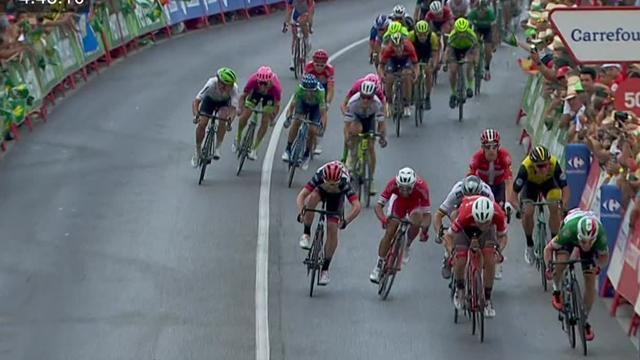 Vuelta 2018: vince Clarke, Kwiatkowski perde la maglia rossa. Molard nuovo leader