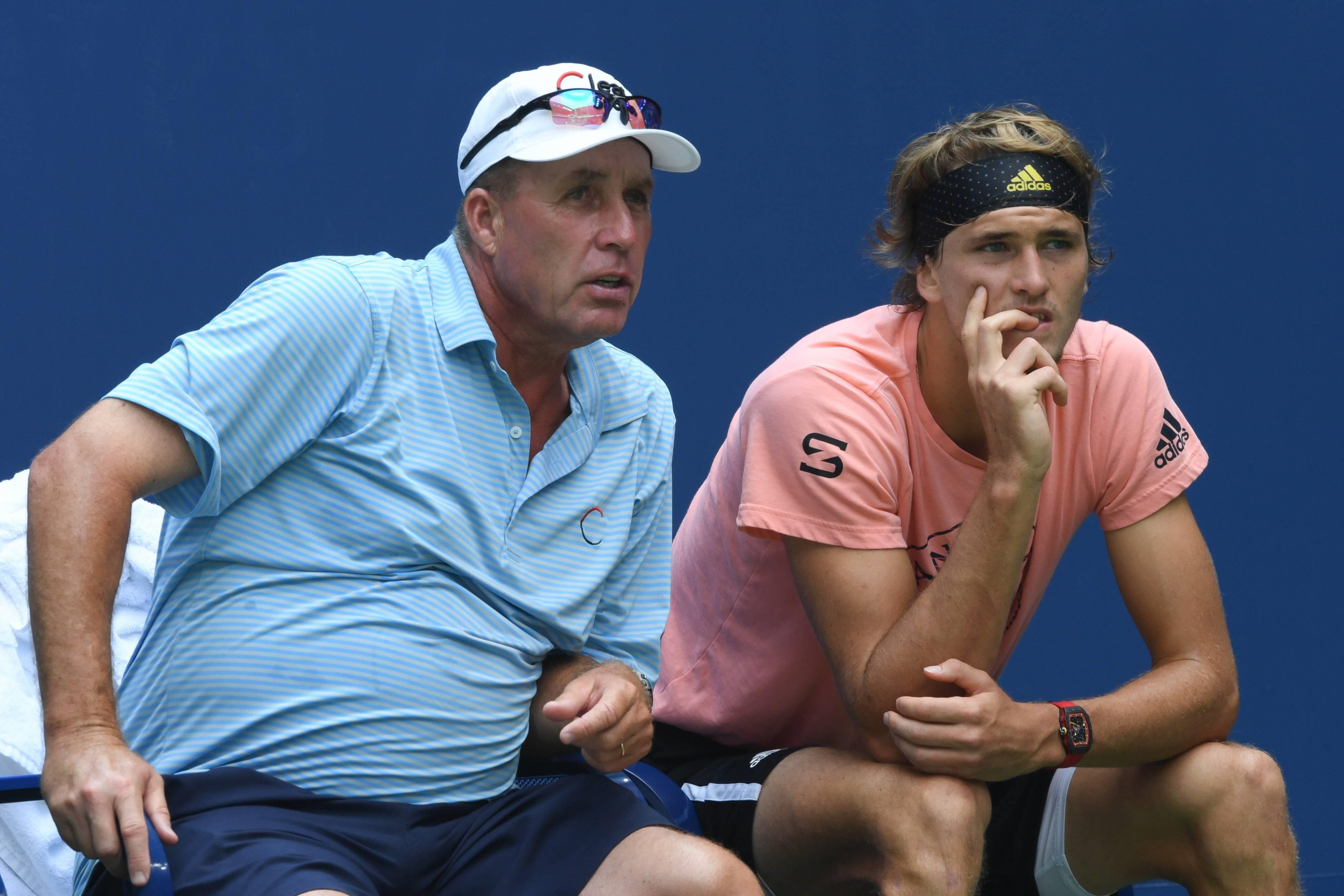 Ivan Lendl und Alex Zverev
