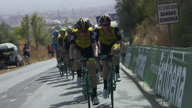 La Vuelta 2018: 4. etabın önemli anları