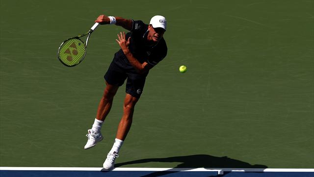 Djokovic lâche un set face à Sandgren — US Open