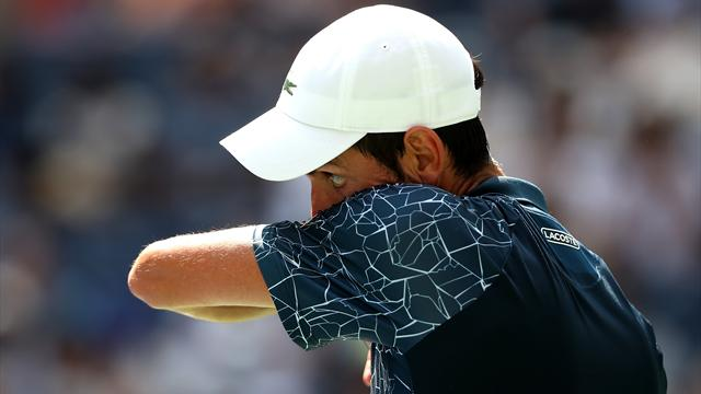 Djokovic a sué, puis il a accéléré