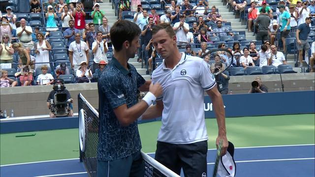 Se sammendraget: Brutale forhold under Djokovic-kamp