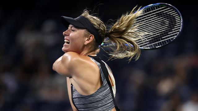 Sharapova a fait parler sa puissance pour surclasser Cirstea