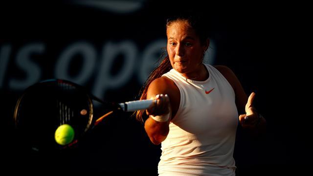 Касаткина вырвала победу над Бабош ивышла во 2-ой кругUS Open