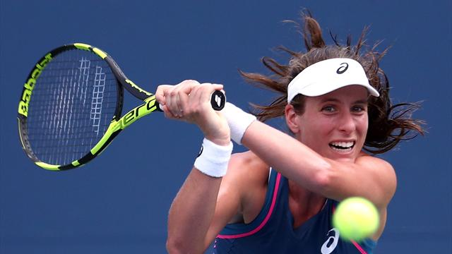 Konta not beating herself up after first-round defeat