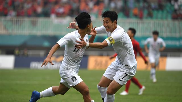 Giochi Asiatici: oro alla Corea del Sud, Son evita il servizio militare