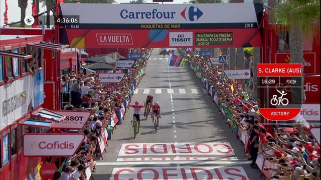 Rudy Molard s'empare du commandement — Vuelta
