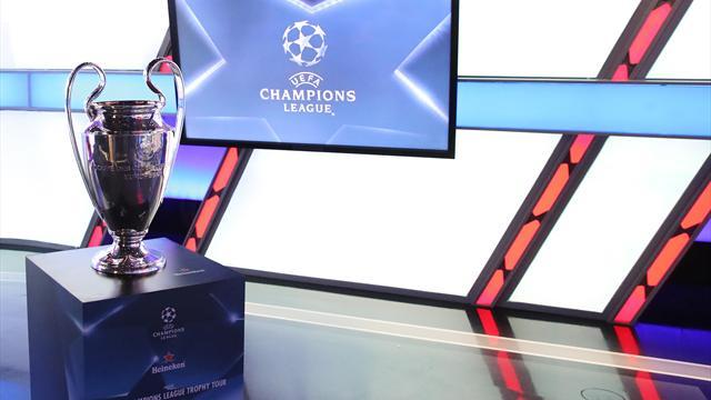 Champions League-lottning live på Eurosport.se
