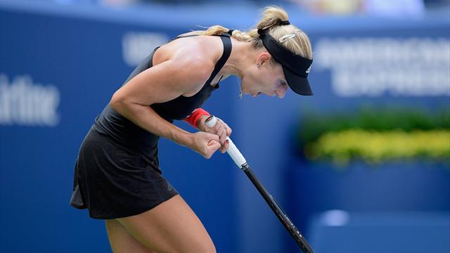 Kerber col brivido, Kvitova e Keys avanti: di nuovo rimandata la Bouchard