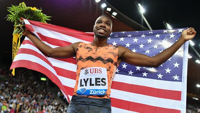 "19""67 : Lyles confirme son effarant potentiel sur 200m"