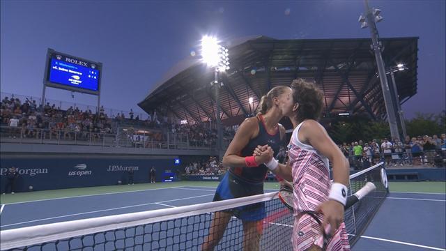 Maria Sharapova éliminée en huitièmes de finale — US Open