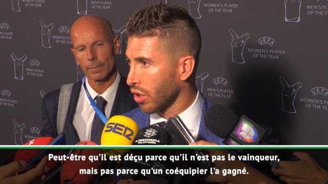 Ramos : «Si un joueur méritait ce titre, c'est Modric»