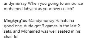 Botta e risposta tra Murray e Kyrgios