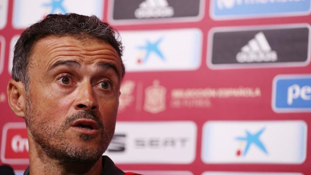 Spain boss Enrique names youthful squad for England match but leaves out Alba