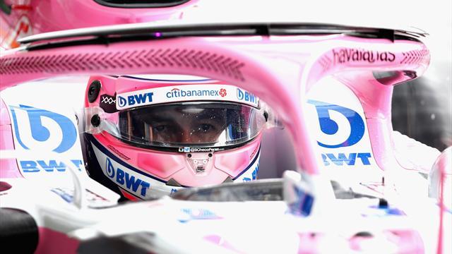 Sergio Pérez sera bien au volant de la Force India en 2019