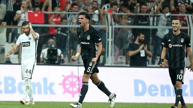 Beşiktaş net skorla Avrupa Ligi gruplarında