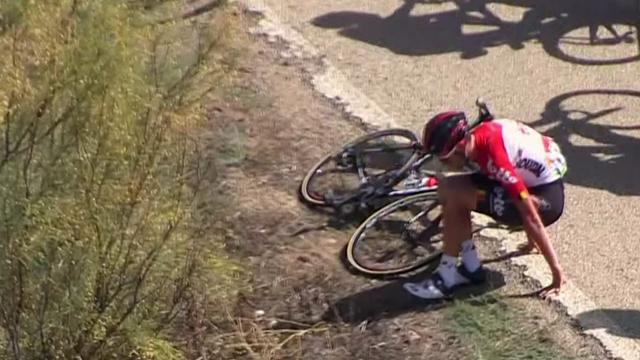 Vuelta 2018: i momenti chiave della settima tappa, vince Gallopin in una tappa di cadute e forature