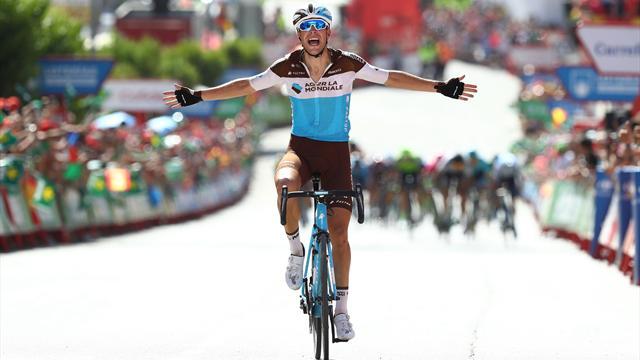Le Français Tony Gallopin s'impose en costaud — Vuelta