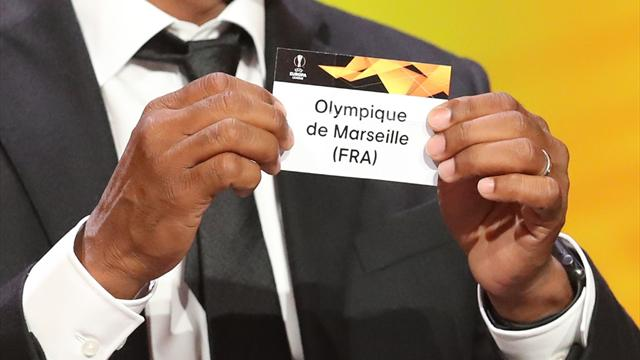 L'OM avec la Lazio et Francfort, Bordeaux et Rennes épargnés
