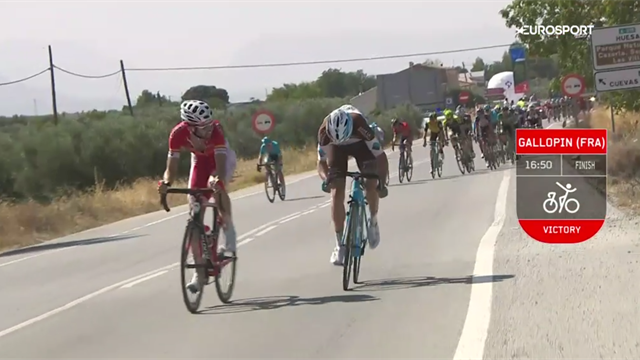La Vuelta, Stage 7 - Key Moments: One big crash, one big finish