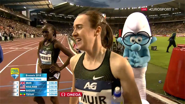 Laura Muir storms to 1500m Diamond League title