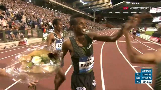 Teenager Selemon Barega runs fourth fastest 5000m ever in Brussels
