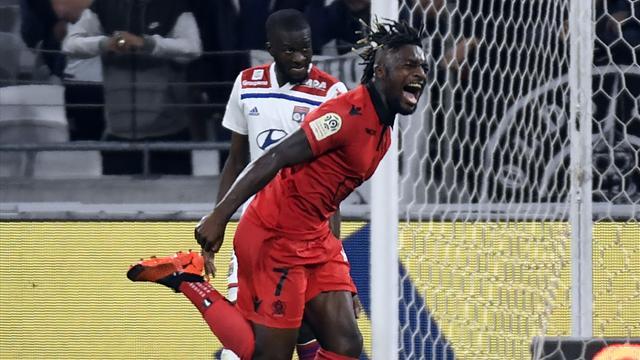 Lyon rechute, Nice lance enfin sa saison