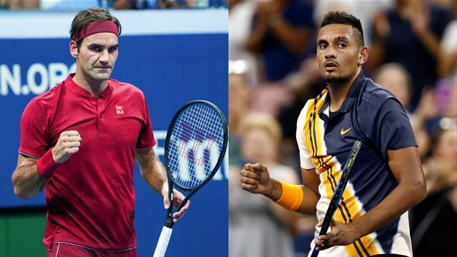 Federer – Kyrgios, un choc qui sent le show