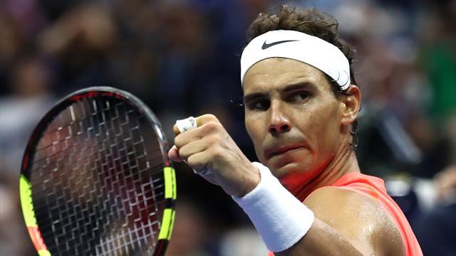 Надаль выбил Хачанова в четвертьфинале и попал на Федерера