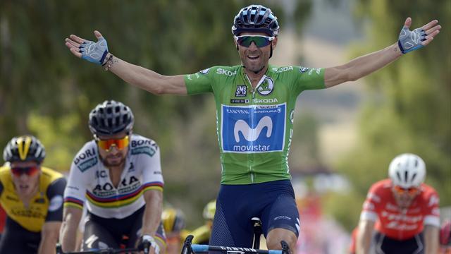 Alejandro Valverde batte Sagan in volata! L'Imbatido bissa alla Vuelta, quinto Nizzolo
