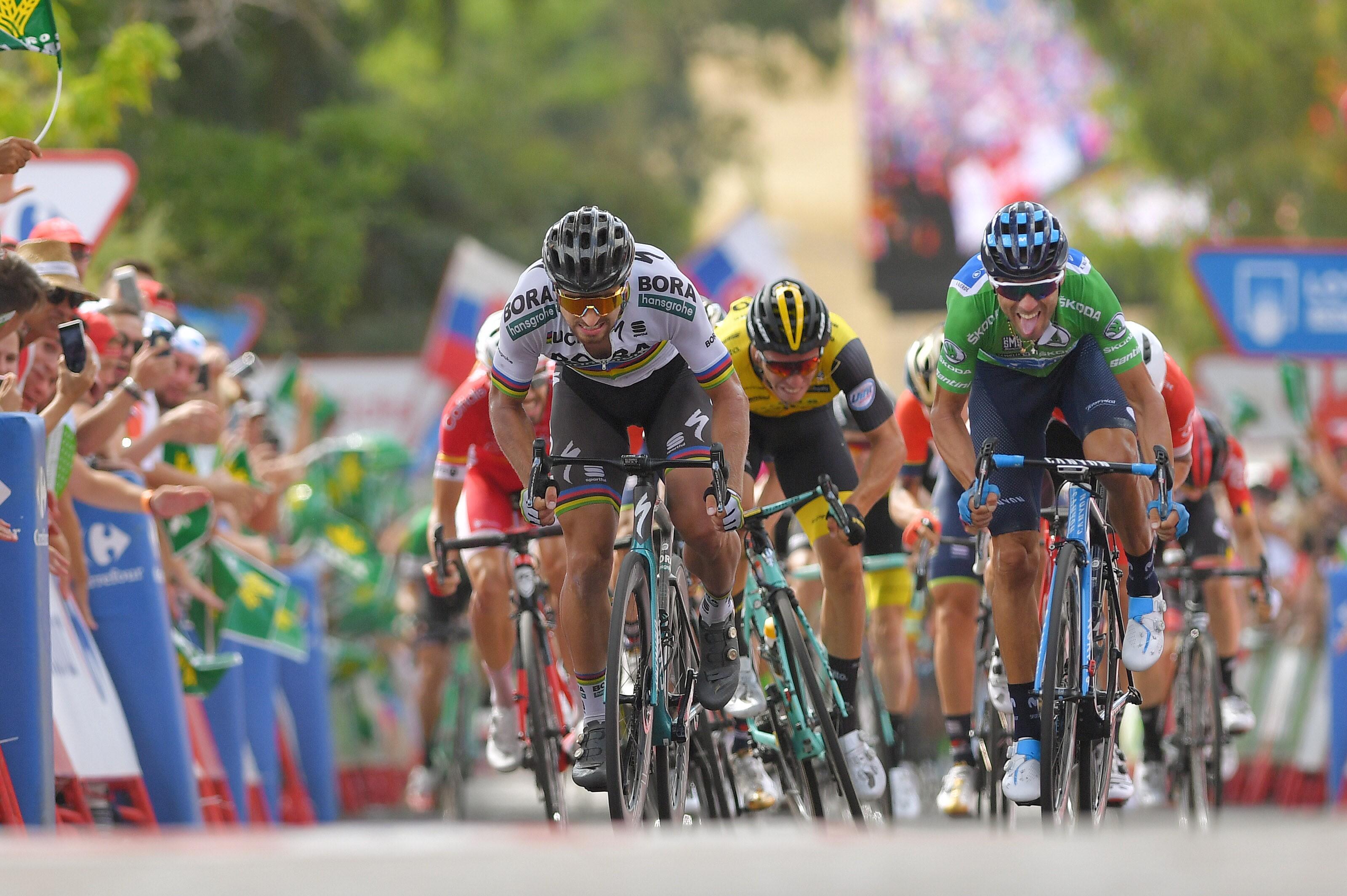 Peter Sagan et Alejandro Valverde