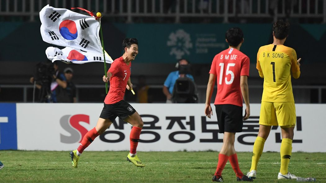 Image result for South Korea vs japan at asian Game