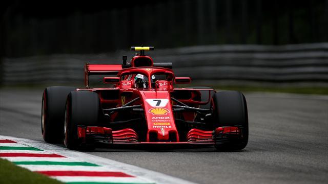 Monza'da pole pozisyonu, rekortmen Kimi'nin