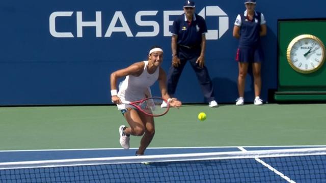 Maria Sharapova s'est inclinée en huitièmes de finale — US Open