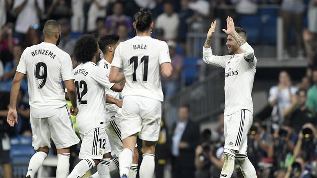 Real Madrid gollü galibiyetlere devam ediyor