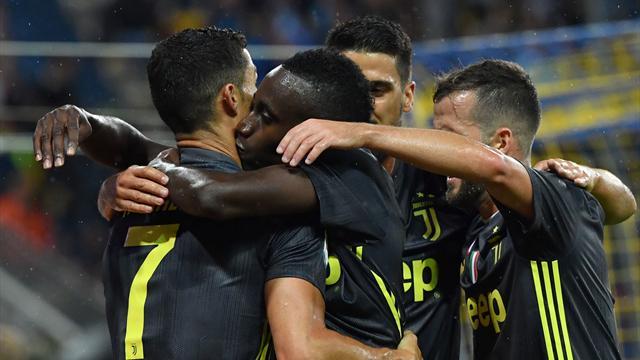 La Juve enchaîne, Ronaldo encore muet