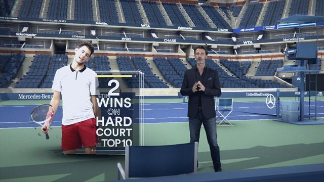 US Open: Rafael Nadal rejoint Dominic Thiem en quarts de finale