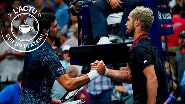 Djokovic, Vuelta, Nadal, Monaco-OM : l'actu sur un plateau