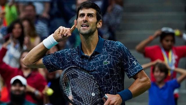 US Open: ontketende Djokovic timmert Gasquet simpel van de baan