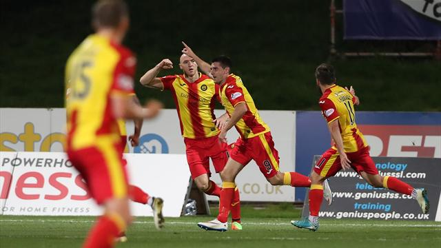 VIDEO: Partick Thistle goal not given despite clearly hitting the back of the net
