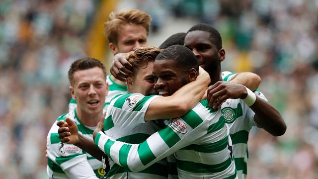 Ntcham strike gives Celtic derby victory