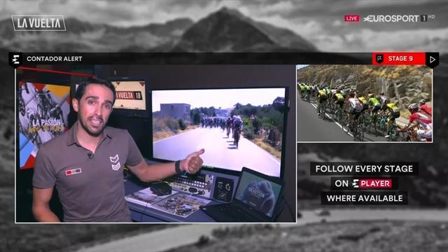 Contador en Eurosport: Así ve Alberto la etapa de La Covatilla que puede cambiarlo todo
