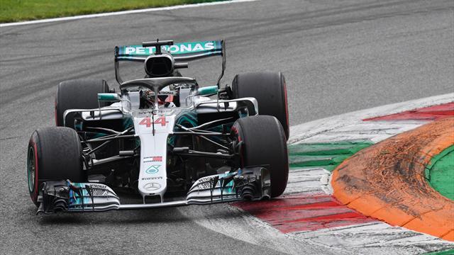 Monza'nın fatihi Hamilton